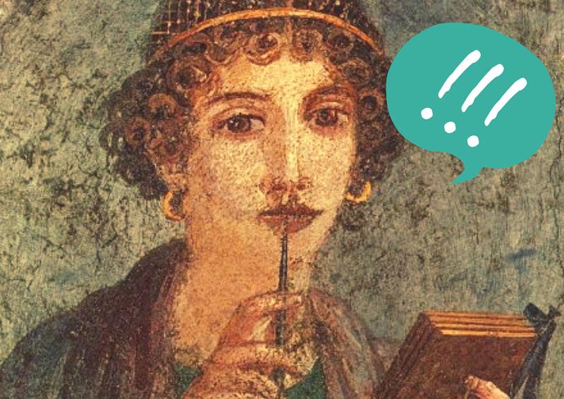 Herkulaneischer Meister / Porträt eines Mädchens