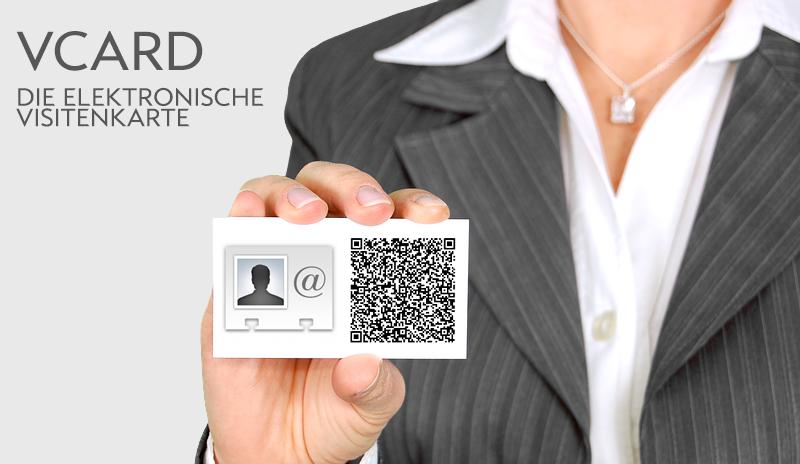 Vcard Digitale Visitenkarte Für Kunden Und Interessenten